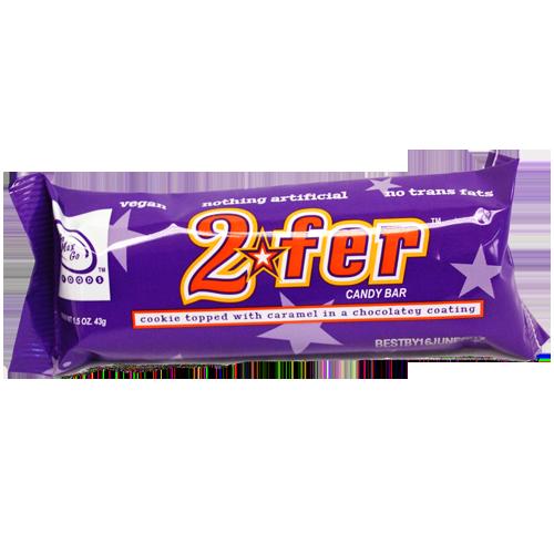 2FER vegansk choklad med cookie och kola