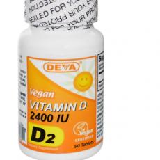 Vitamin D vegansk DEVA