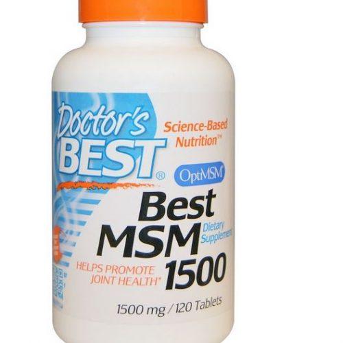 MSM 1500mg 120st OptiMSM Methylsulfonylmethane