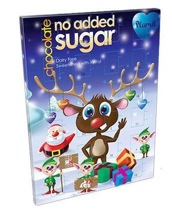 Mjölkfri sockerfri julkalender Plamil