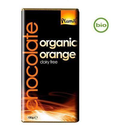 Plamil mörk choklad apelsin