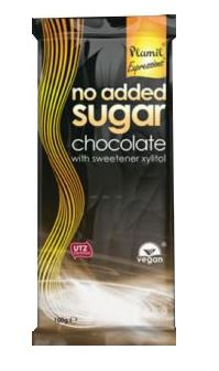 Plamil sockerfri halvmörk choklad