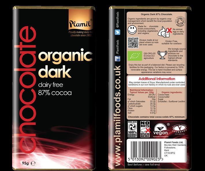 glutenfri mörk choklad