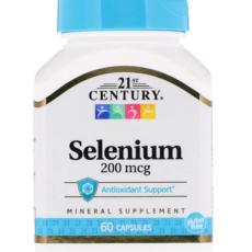 Selen-selenium 200mg 60st 21st century