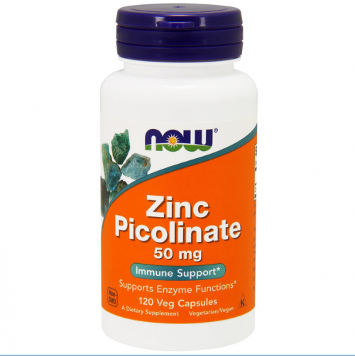 Zink picolinat NOW 50mg 120st