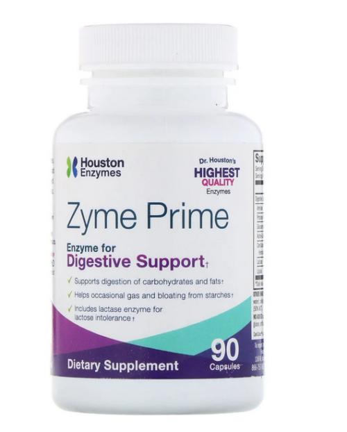 Zyme Prime matsmältningsenxzymer kolhydrat