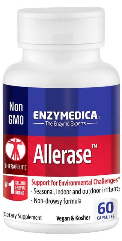 Enzymer för hjälp vid pollenallergi och luftburen allergi