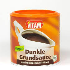 Brun Pulversås mjölkfri glutenfri vegansk