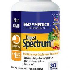 MAtsmältningsenzymer för bruk vid matintolerans eller multipla matallergier