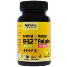 metylfolat med metyl-B12 metylcobolamin