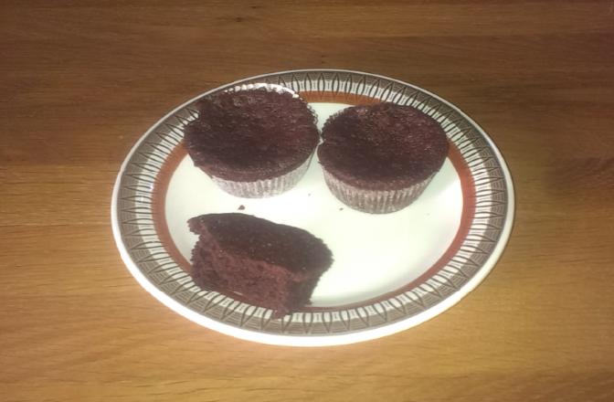 Recept: Kladdkaksmuffins glutenfria och mjölkfria