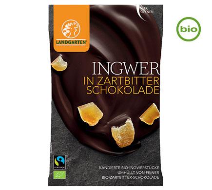 ingefära i mörk choklad