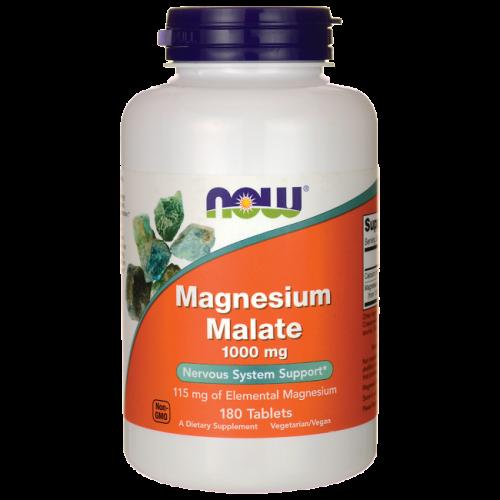 magnesium-malat biotillgängelig magnesium NOW