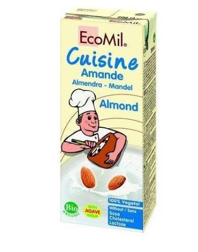 mandelgrädde mjölkfri grädde